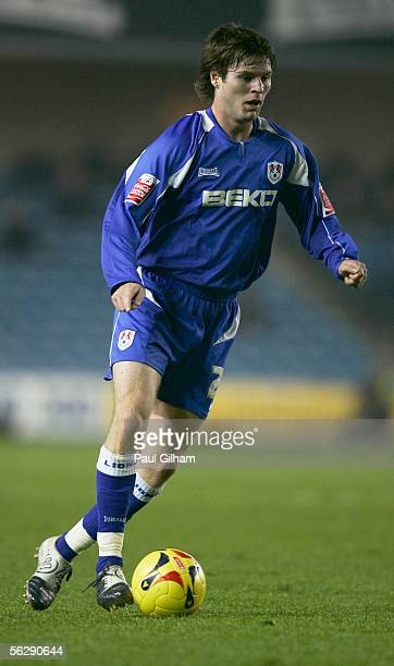 Kevin Braniff of Millwall in action during the CocaCola Championship match between Millwall and Norwich City at the New Den on November 22 2005 in...