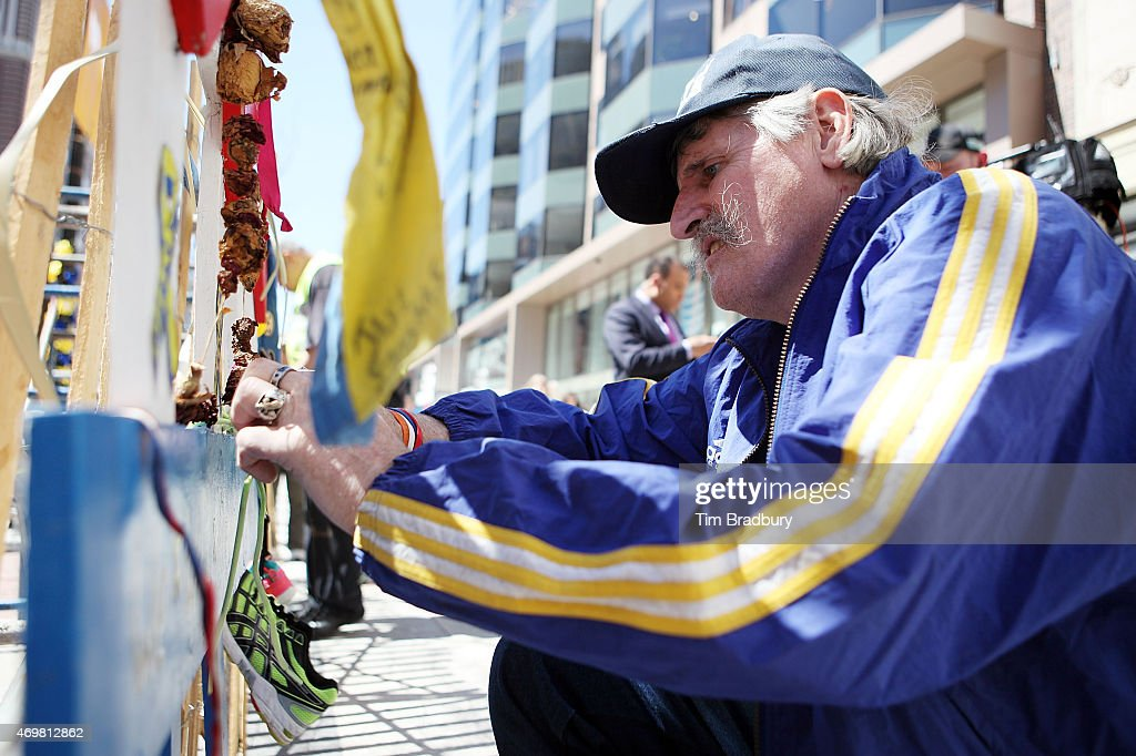 2nd Anniversary Of Boston Marathon Bombing Commemorated In Boston : News Photo