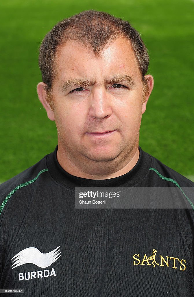 Kevin Buckby the Equipment Manager of Northampton Saints poses for a portrait at Franklins Gardens on August 24, 2010 in Northampton, England.