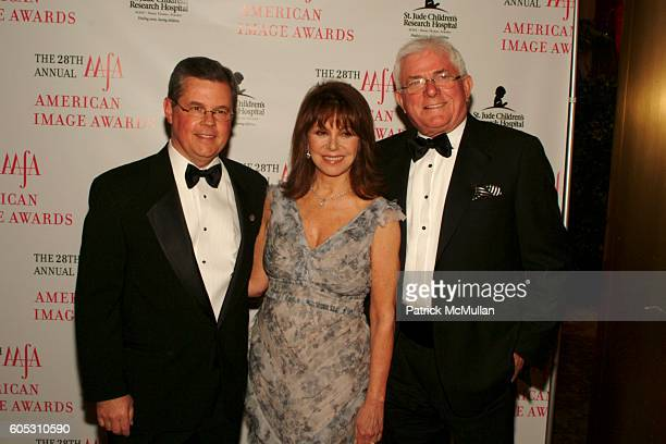 Kevin Burke Marlo Thomas and Phil Donahue attend The 2006 AAFA AMERICAN IMAGE AWARDS to benefit ST JUDE CHILDREN'S RESEARCH HOSPITAL at Grand Hyatt...