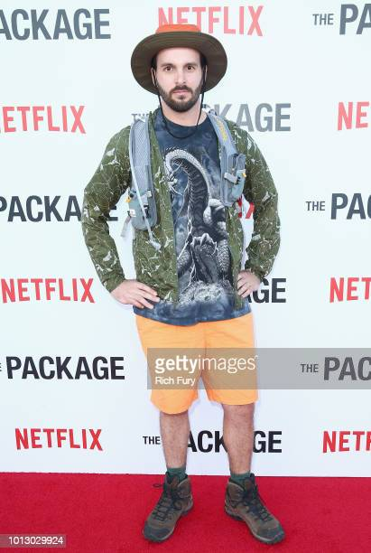 Kevin Burrows attends the Los Angeles special screening after party For The Netflix Film The Package at El Cid on August 7 2018 in Los Angeles...