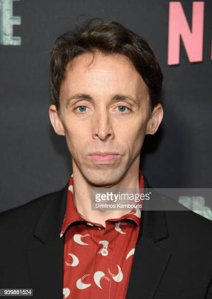 Kevin Cahoon attends the Netflix Premiere of 'A Series of Unfortunate Events' Season 2 on March 29 2018 in New York City