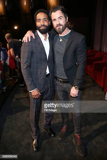 Kevin Carroll and Justin Theroux attend the The Leftovers FYC at Paramount Studios on June 5 2016 in Hollywood California