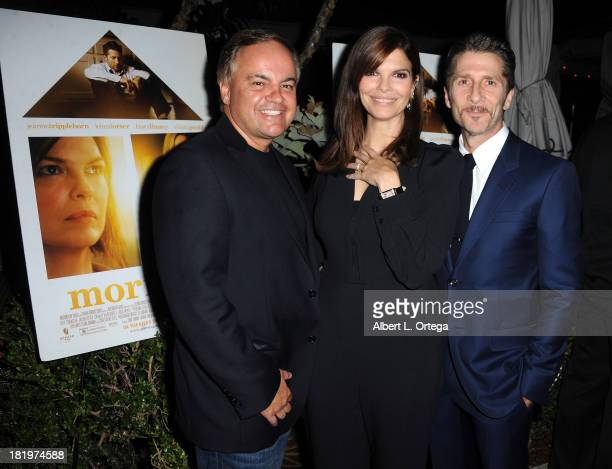 Kevin Casha actress Jeanne Tripplehorn and actor/director Leland Orser attend C Magazine Dinner And Reception Celebrating Leland Orser's 'Morning'...