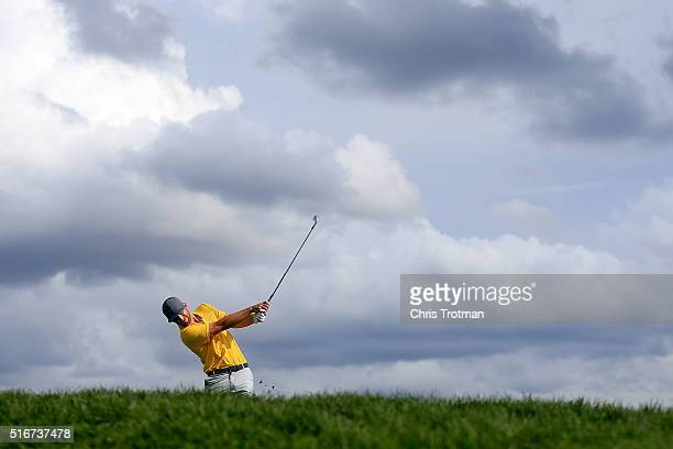 Kevin Chappell of the United States hits his tee shot on the 14th hole during the final round of the Arnold Palmer Invitational Presented by...