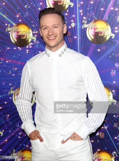 Kevin Clifton at the Strictly Come Dancing Launch at BBC Broadcasting House in London