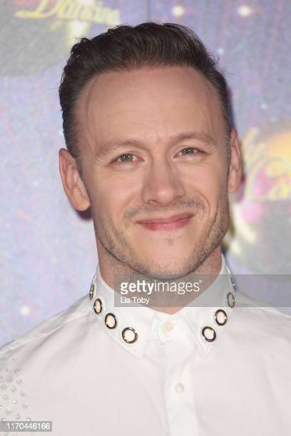 Kevin Clifton attends the Strictly Come Dancing launch show red carpet at Television Centre on August 26 2019 in London England