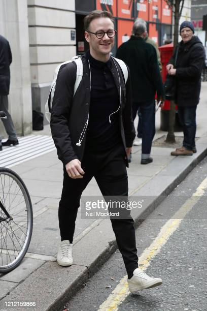 Kevin Clifton seen leaving BBC Radio 2 on March 13 2020 in London England
