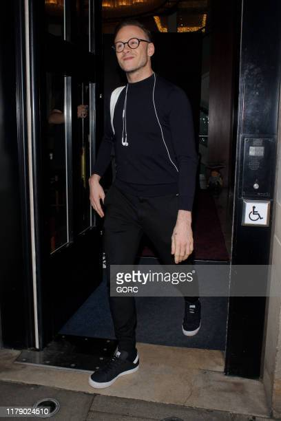 Kevin Clifton seen leaving TV studios after recording Strictly It Takes Two on October 04 2019 in London England