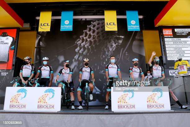 Kevin Colleoni of Italy, Brent Bookwalter of United States, Tsgabu Gebremaryam Grmay of Ethiopia, Kaden Groves of Australia, Damien Howson of...