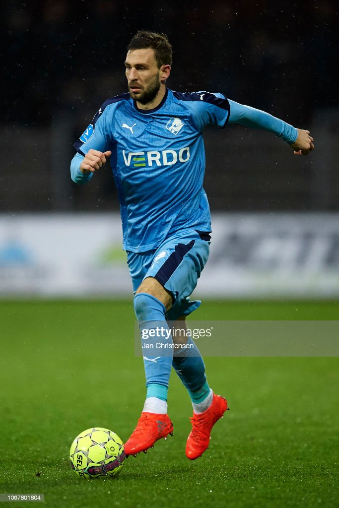 Randers FC vs FC Midtjylland - Danish Superliga : Foto jornalística