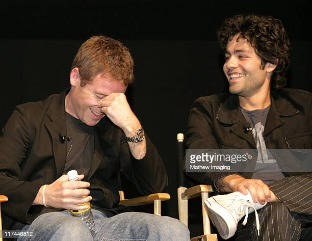 """Kevin Connolly and Adrian Grenier during The Academy of Television Arts & Sciences Presents An Evening with """"Entourage"""" - Inside at Leonard H...."""