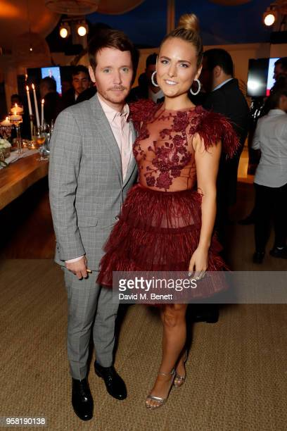 Kevin Connolly and Francesca Dutton attends the HFPA Event with Particpant Media to Honor the Kailash Satyarthi Children's Foundation in partnership...