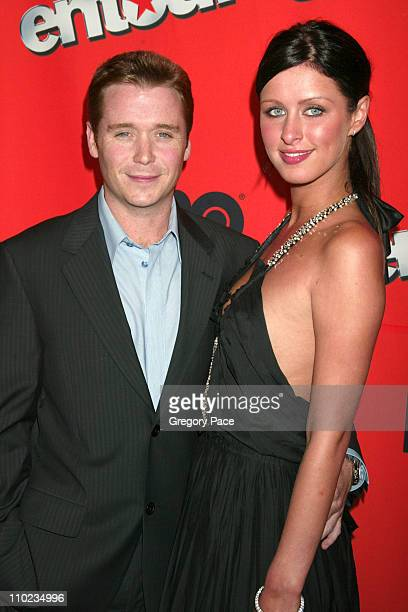 Kevin Connolly and girlfriend Nicky Hilton during HBO's Entourage Season 2 New York City Premiere at The Tent at Lincoln Center Damrosch Park in New...
