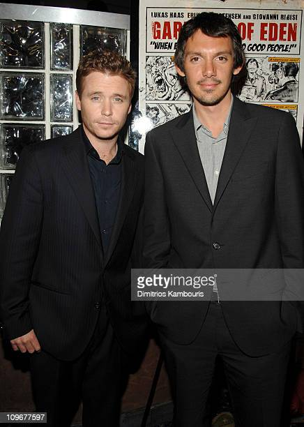 Kevin Connolly and Lukas Haas during 6th Annual Tribeca Film Festival Gardener of Eden Press Conference at Clearview Chelsea in New York City New...