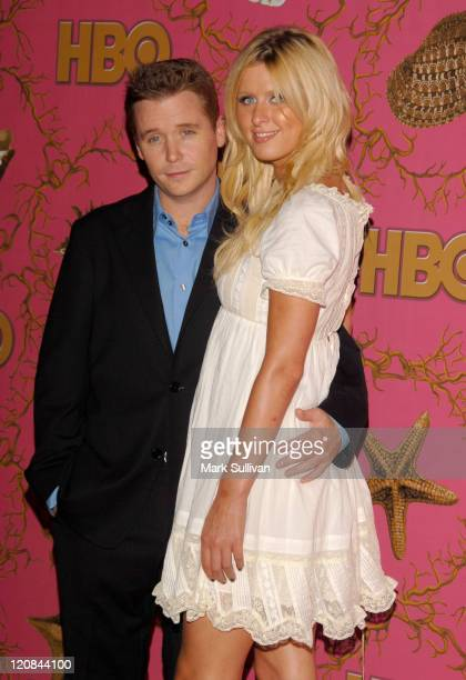 Kevin Connolly and Nicky Hilton during 58th Annual Primetime Emmy Awards - HBO After Party - Arrivals at Pcific Design Center in West Hollywood,...