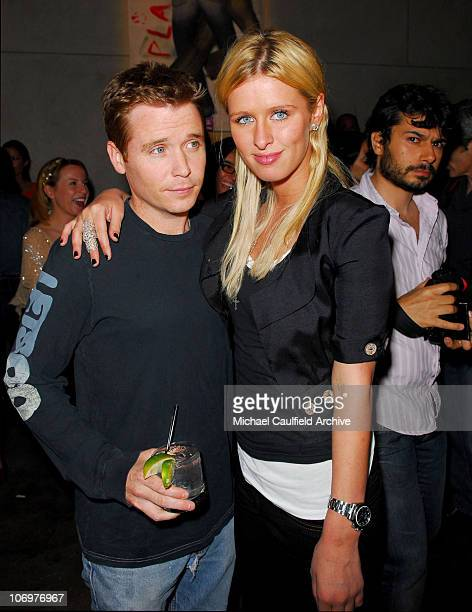 Kevin Connolly and Nicky Hilton during Brandon Davis and Replay Celebrate The Los Angeles Replay Store Opening and Launch of The Brandon Davis Jean...
