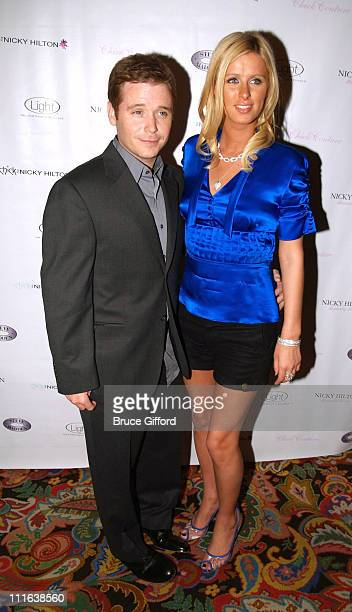 Kevin Connolly and Nicky Hilton during Chick by Nicky Hilton Fashion Show at Light Nightclub February 23 2006 at Bellagio Hotel and Casino Resort in...