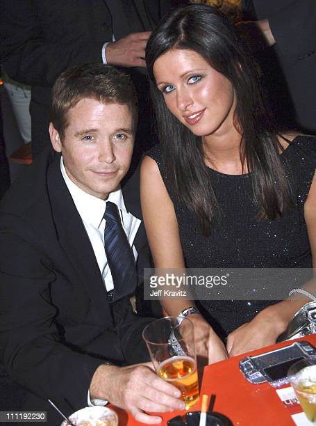 """Kevin Connolly and Nicky Hilton during """"Entourage"""" Season Two Los Angeles Premiere - After Party at The Hollywood Roosevelt Hotel in Hollywood,..."""