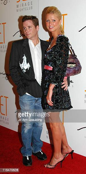 Kevin Connolly and Nicky Hilton during Jet Nightclub at The Mirage Grand Opening Celebration - Red Carpet at The Mirage in Las Vegas, Nevada, United...