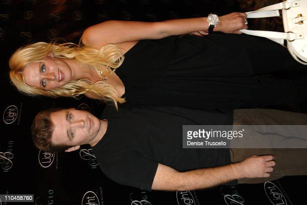 Kevin Connolly and Nicky Hilton during LIGHT Nightclub Four Year Anniversary VIP Red Carpet Reception at Caramel Lounge at The Bellagio Hotel and...