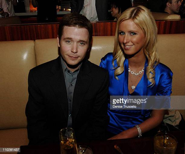 Kevin Connolly and Nicky Hilton during Nicky Hilton Kevin Connolly at Fix Restaurant at The Belaggio Hotel and Casino Resort February 23 2006 at FIX...