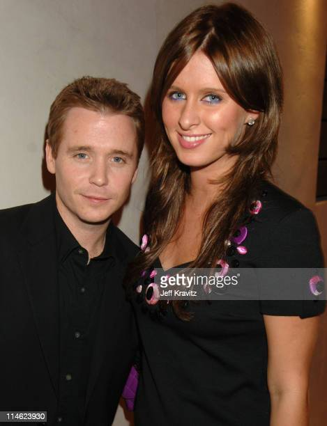 Kevin Connolly and Nicky Hilton during US Weekly's 2006 Hot Hollywood Fresh 15 Inside at Area in West Hollywood California United States