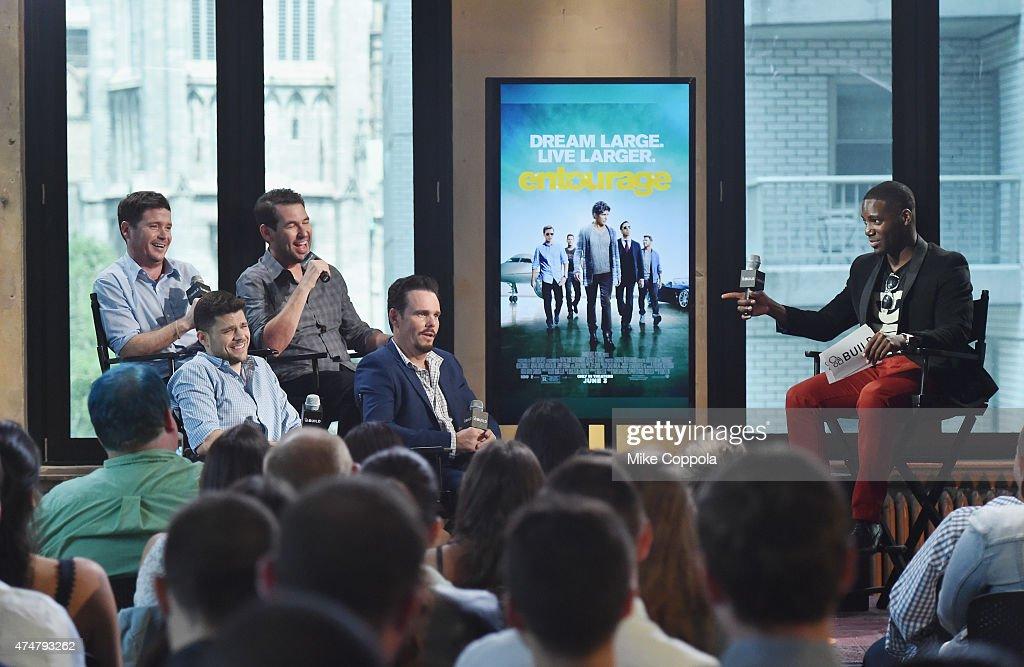 "AOL BUILD Speaker Series: The Cast Of Film ""Entourage"" : News Photo"