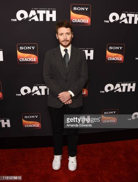 """Kevin Connolly arrives at Sony Crackle's """"The Oath"""" Season 2 exclusive screening event at Paloma on February 20, 2019 in Los Angeles, California."""