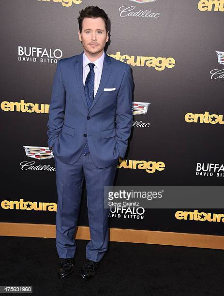 """Kevin Connolly arrives at the """"Entourage"""" - Los Angeles Premiere at Regency Village Theatre on June 1, 2015 in Westwood, California."""