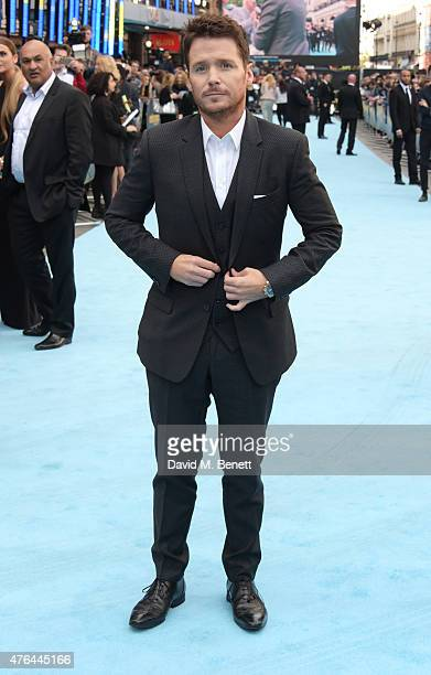 Kevin Connolly attends the European Premiere of Entourage at the Vue West End on June 9 2015 in London England