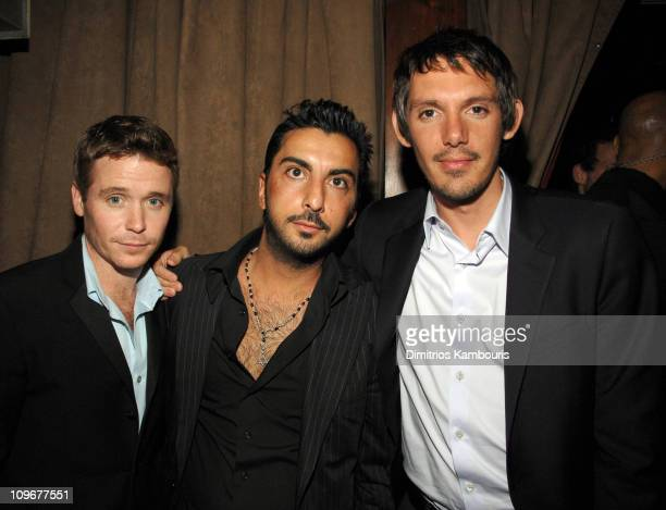 Kevin Connolly Danny A and Lukas Haas during 6th Annual Tribeca Film Festival Gardener of Eden After Party in New York City New York United States