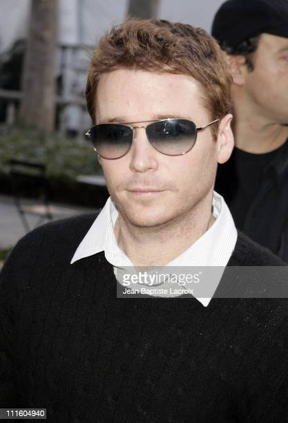 Kevin Connolly during MercedesBenz Fashion Week Fall 2007 Lacoste Departures at The Tent Bryant Park in New York City New York United States