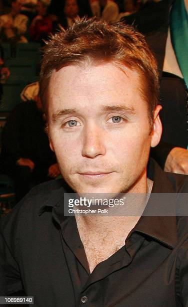 Kevin Connolly during Super Welterweight Championship Oscar De La Hoya vs Ricardo Mayorga Ringside at MGM Grand Garden Arena in Las Vegas Nevada...