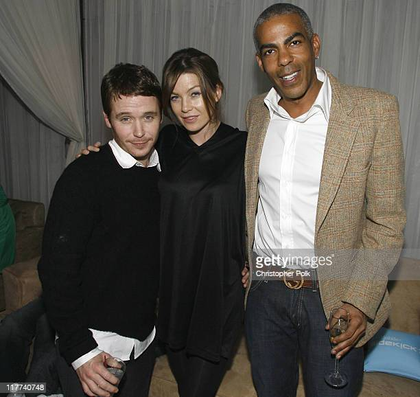 Kevin Connolly Ellen Pompeo and Christopher Ivery
