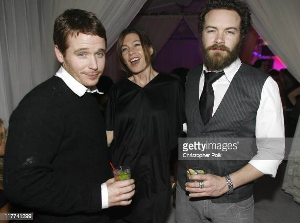 Kevin Connolly Ellen Pompeo and Danny Masterson during TMobile Sidekick 3 Dwyane Wade Edition Launch Party Inside at The Palms in Las Vegas Nevada...