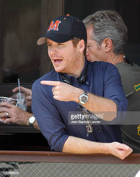 Kevin Connolly is seen on location for Entourage on June 23 2010 in West Hollywood California