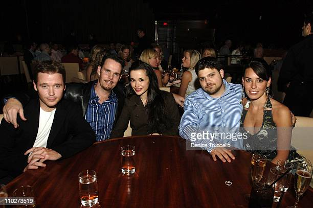 Kevin Connolly, Kevin Dillon and Fiance, Jane Stuart, Jerry Ferrara and Alexis Spadaro