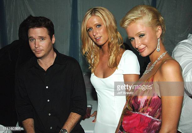 Kevin Connolly Nicky Hilton and Paris Hilton during 2005 MTV Video Music Awards Audience and Backstage at American Airlines Arena in Miami Florida...