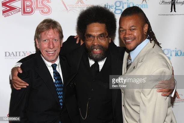 Kevin Convey Cornel West and Bryan Adams attend the 6th annual African American Literary Awards at Landmark on the Park on September 23 2010 in New...