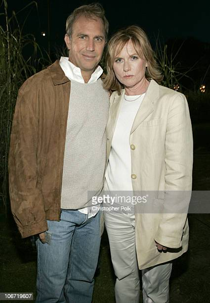 Kevin Costner and Amy Madigan at the DVD Launch party of Field of Dreams thrown by Universal Studios Home Video The event held at the West Hollywood...