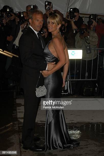 Kevin Costner and Christine Baumgartner attend The Metropolitan Museum of Art Costume Institute Spring 2005 Benefit Gala celebrating the exhibition...