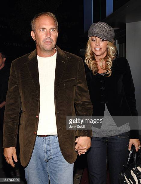 Kevin Costner and Christine Baumgartner during 31st Annual Toronto International Film Festival - Entertainment Weekly Party at Flow in Toronto,...