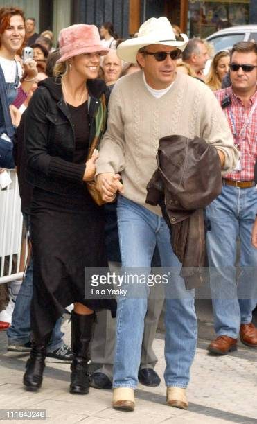 Kevin Costner and Girlfriend Christine Baumgartner