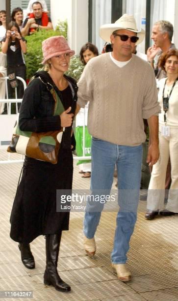 Kevin Costner and Girlfriend Christine Baumgartner