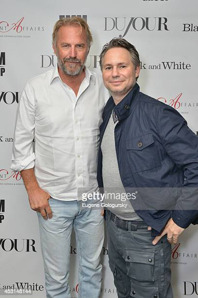 Kevin Costner and Jason Binn attend as DuJour Magazine's Jason Binn hosts Kevin Costner's screening after party along with Andrea Correale at Finale...