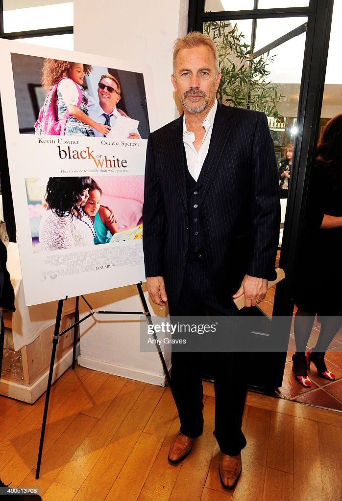 Kevin Costner attends a special luncheon for Kevin Costner and Mike Binder hosted by Colleen Camp for the film BLACK OR WHITE at Fig & Olive Melrose Place on December 15, 2014 in West Hollywood, California.