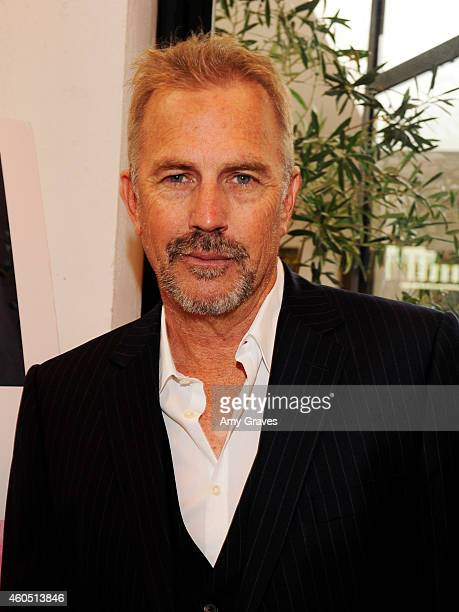 Kevin Costner attends a special luncheon for Kevin Costner and Mike Binder hosted by Colleen Camp for the film BLACK OR WHITE at Fig Olive Melrose...