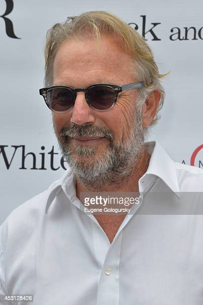 Kevin Costner attends as DuJour Magazine's Jason Binn hosts Kevin Costner's screening of Black And White at UA Theatre on August 3 2014 in East...