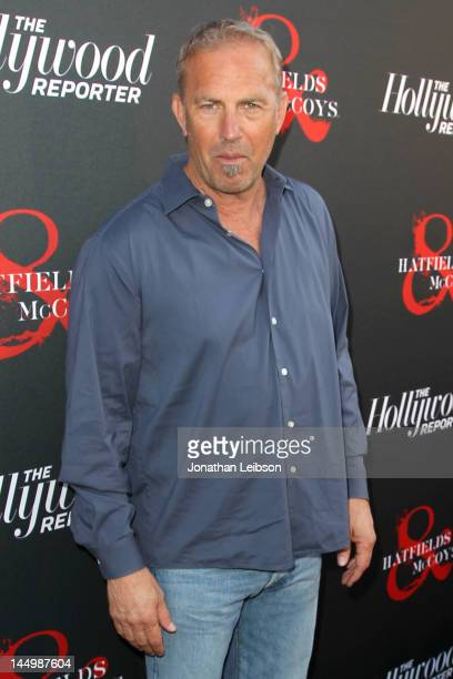 """Kevin Costner attends the Los Angeles premiere of """"Hatfields & McCoys"""" at Milk Studios on May 21, 2012 in Los Angeles, California."""